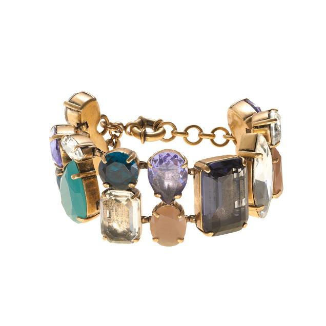 Crystal mélange bracelet