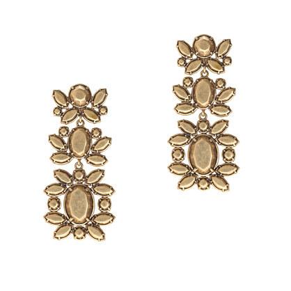 Garden leaf earrings