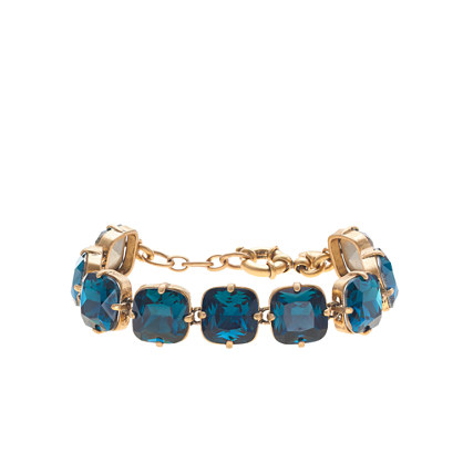 Faceted cone bracelet