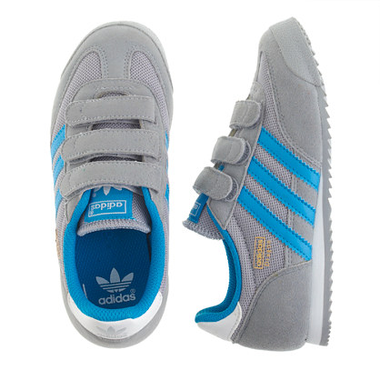 Kids' Adidas® Dragon sneakers in grey and blue