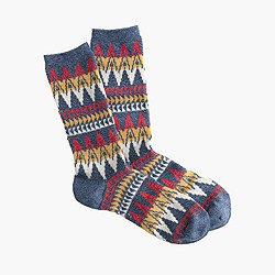 Anonymous Ism™ zigzag socks