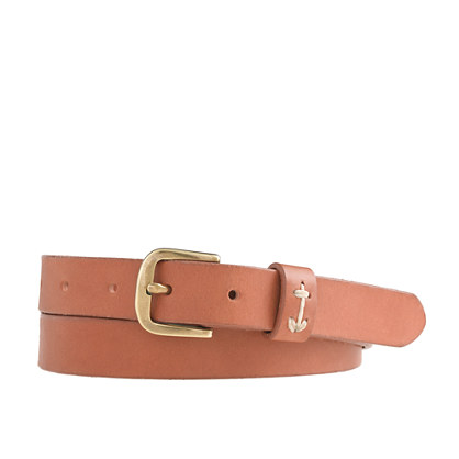 Embroidered anchor keeper belt