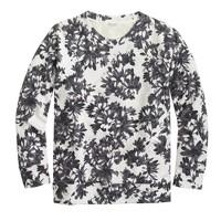 Photo floral sweatshirt
