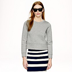 Cropped surf sweatshirt