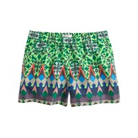 Collection gemstone floral short