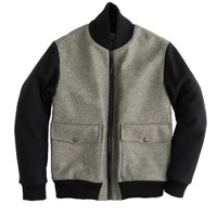 Private White V.C.™ two-tone wool bomber