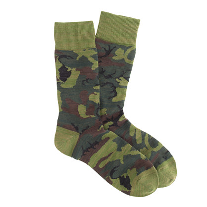 Anonymous Ism camo socks