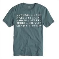Anchors and sails T-shirt