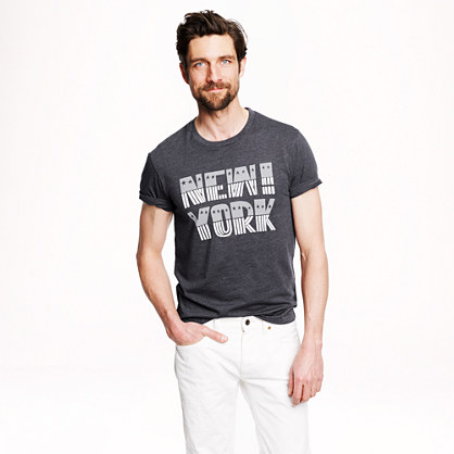 New York stars and stripes T-shirt