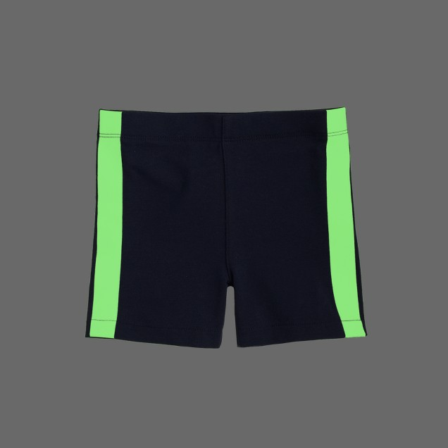 Girls' tumble short in glow-in-the-dark tux