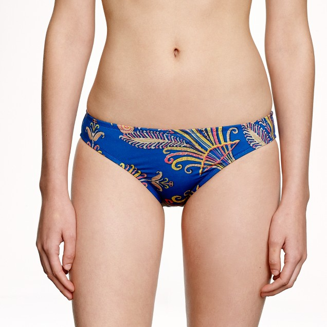 Feather paisley bikini