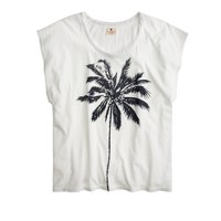 Sundry™ for J.Crew printed palm T-shirt