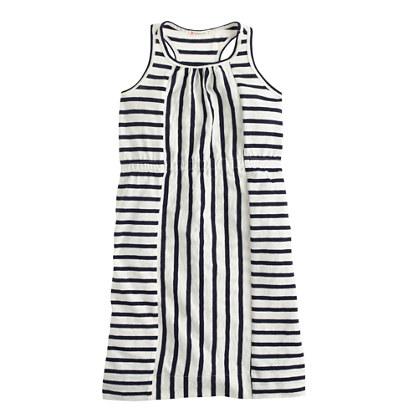 Girls' stripe maxidress