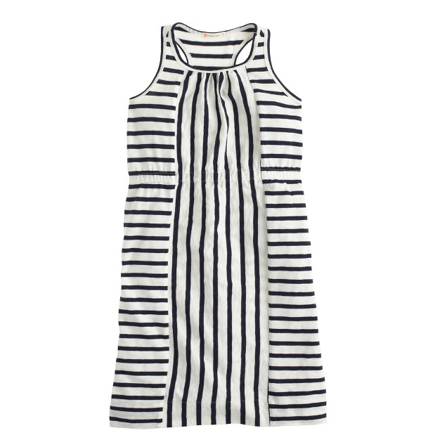 Girls' stripe maxidress