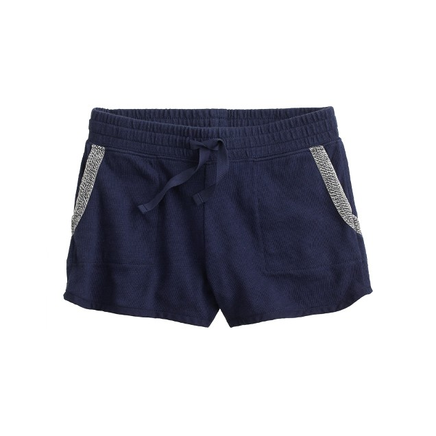 Girls' Millie pull-on short with contrast pocket