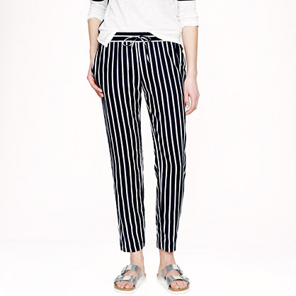 Beach pant in stripe