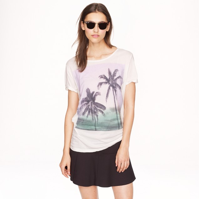 Sundry™ for J.Crew palm tree T-shirt