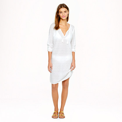 Nili Lotan® for J.Crew eyelet boho dress
