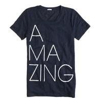 Linen T-shirt in amazing