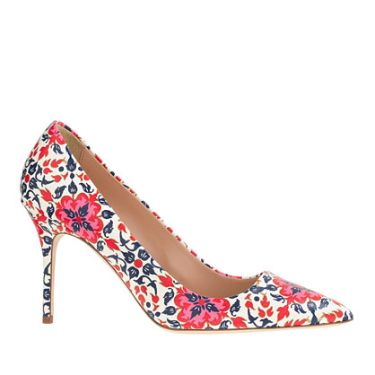 Elsie printed pumps