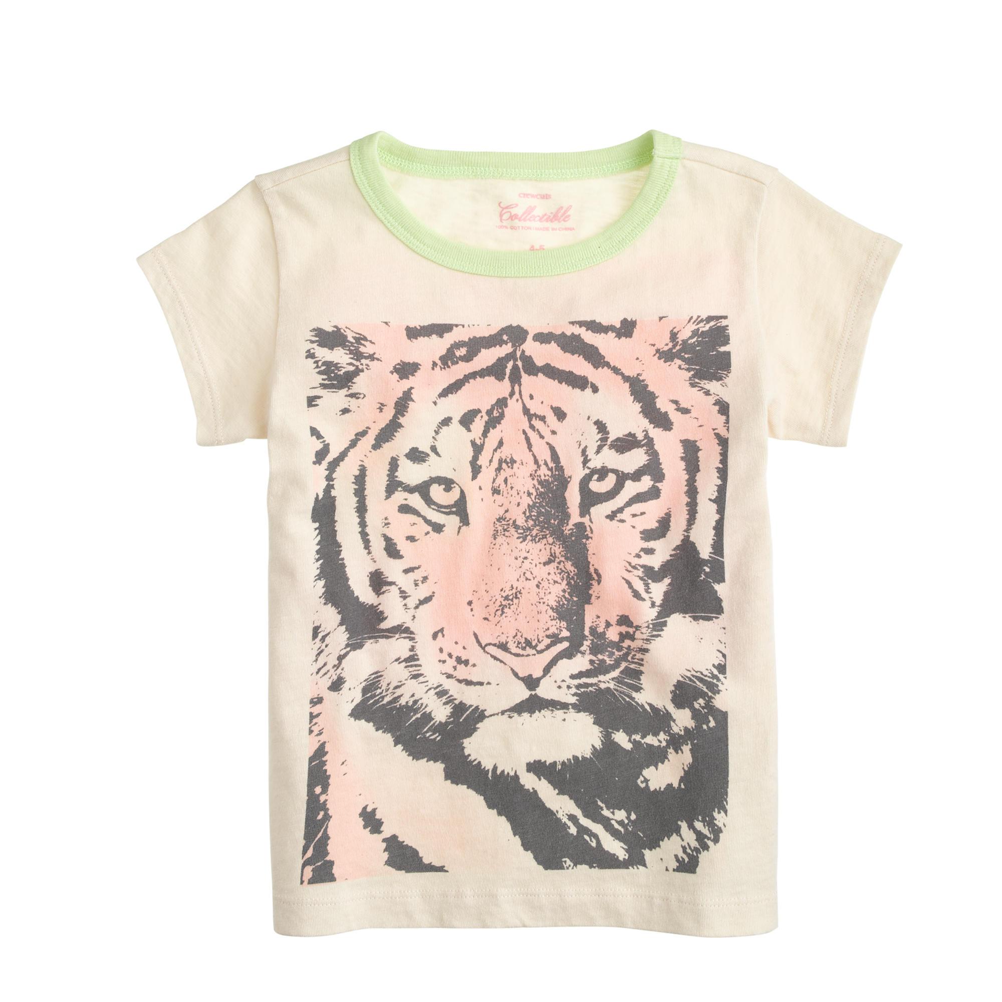 Girls 39 Tiger T Shirt J Crew