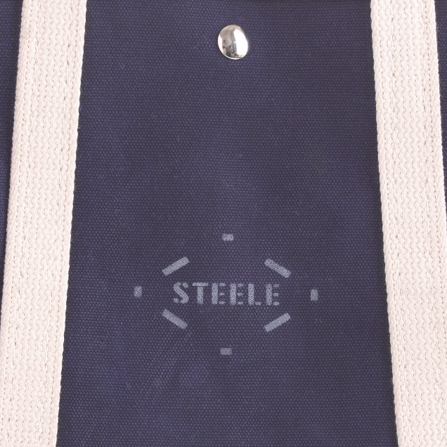 Steele Canvas Basket Corp.™ leather tote