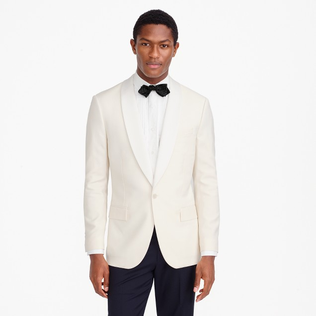 Ludlow dinner jacket in Italian wool