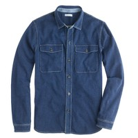 Wallace & Barnes indigo workshirt