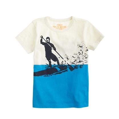 Boys' paddleboard tee