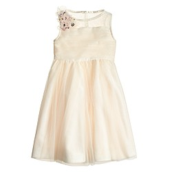 Girls' blooming tulle dress