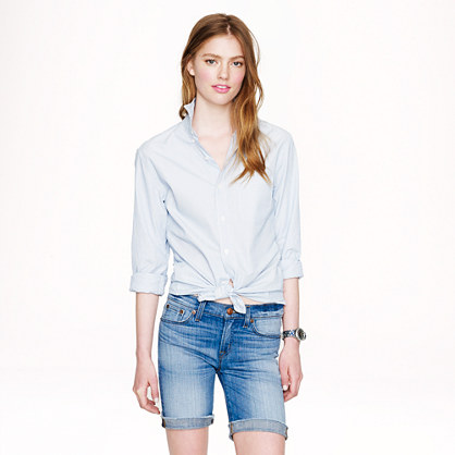 Denim bermuda short in silverlake wash