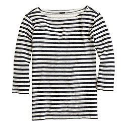 Bateau T-shirt in stripe