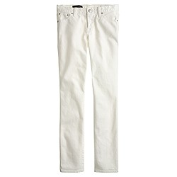 Broken-in boyfriend jean in white