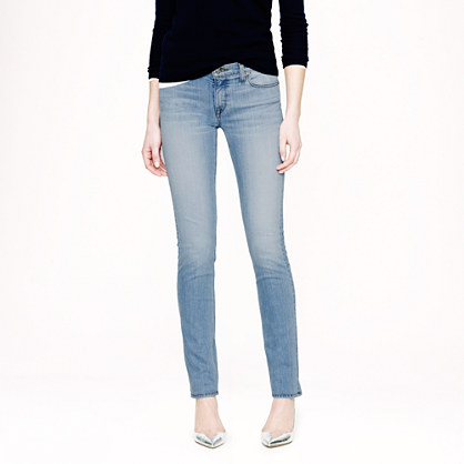 Stretch matchstick jean in chase wash