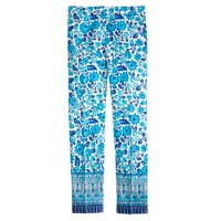 Collection cropped pant in wildflower print