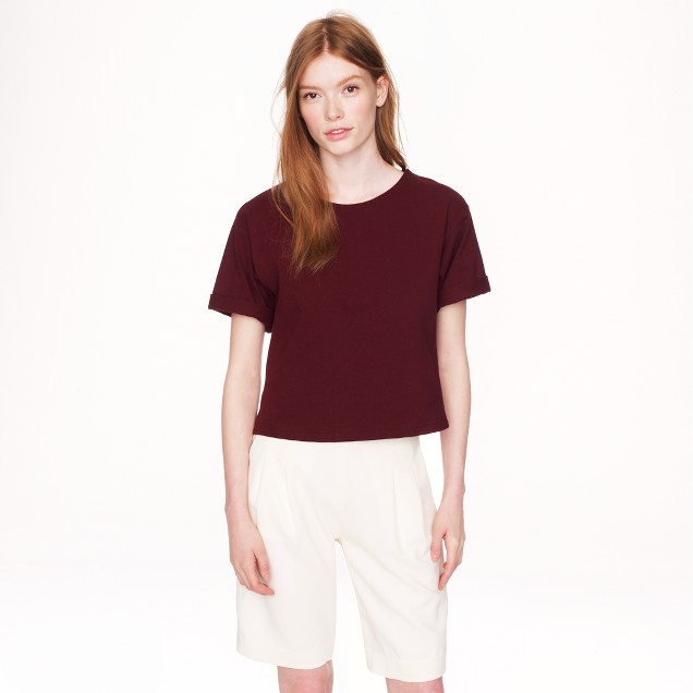 Apiece Apart™ cropped short-sleeve T-shirt