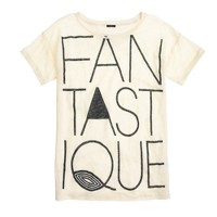 Linen T-shirt in fantastique