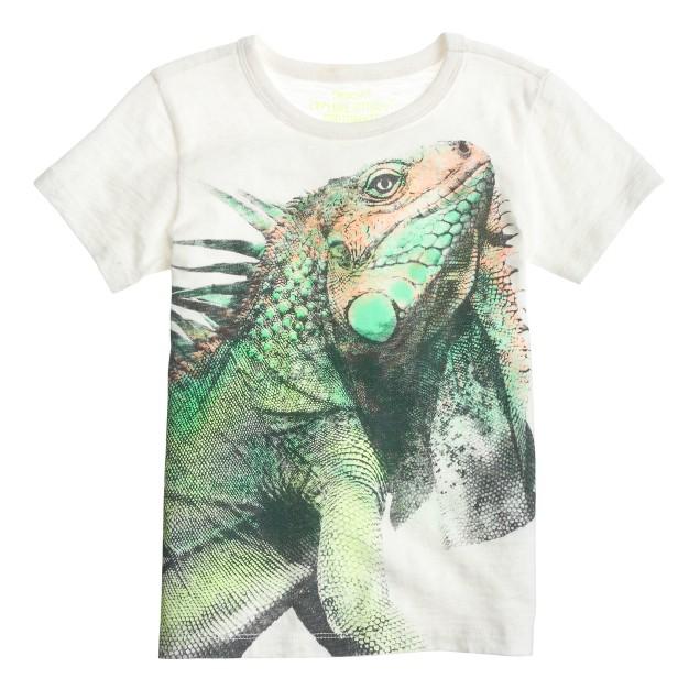 Boys' iguana tee
