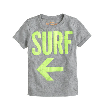Boys' surf swim tee