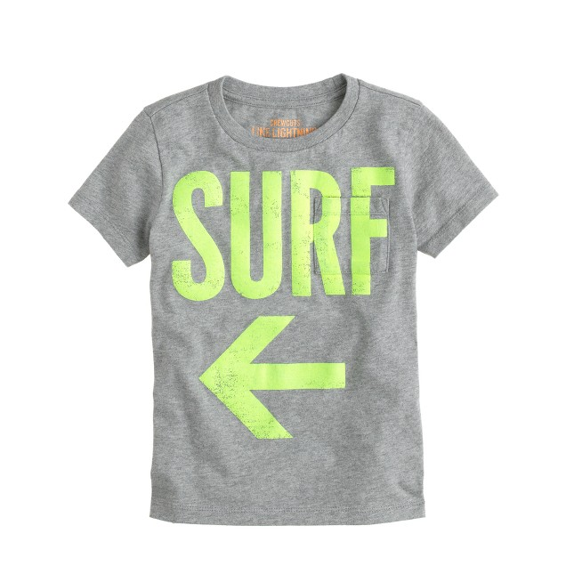 Boys' surf swim tee
