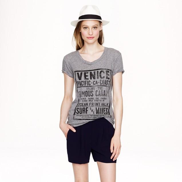 Drapey T-shirt in Venice Beach