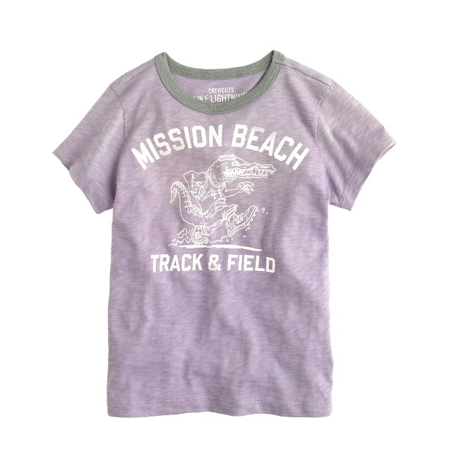 Boys' track and field tee