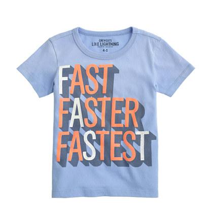 Boys' fastest tee