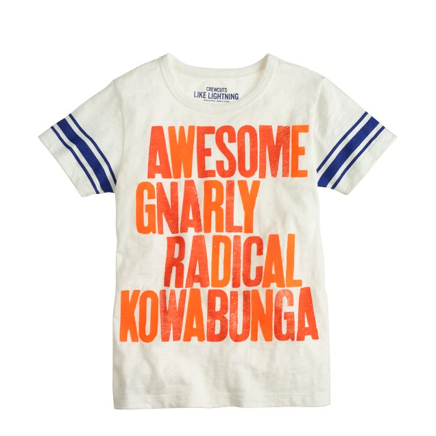 Boys' gnarly tee