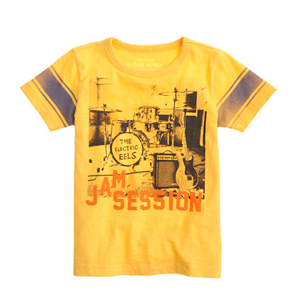 Boys' jam session tee