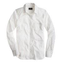 Boy shirt in triangle dot