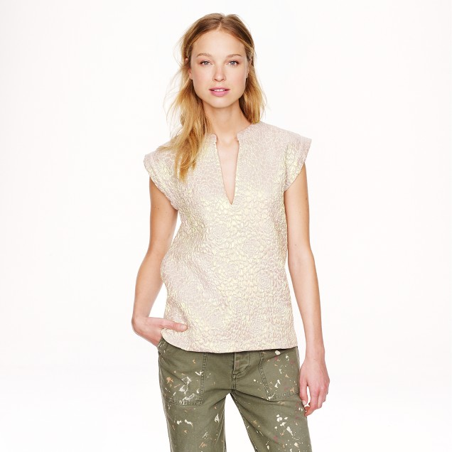 Collection iridescent rose top