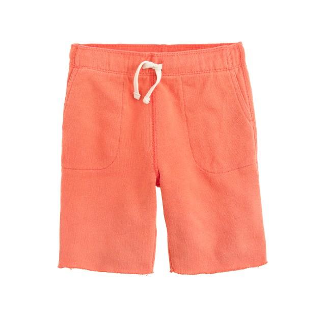 Boys' sun-faded Cooper sweatshort