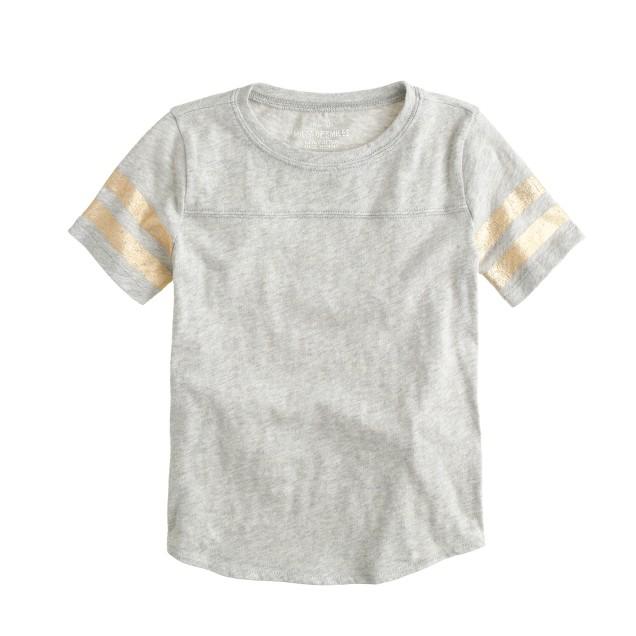 Girls' football T-shirt