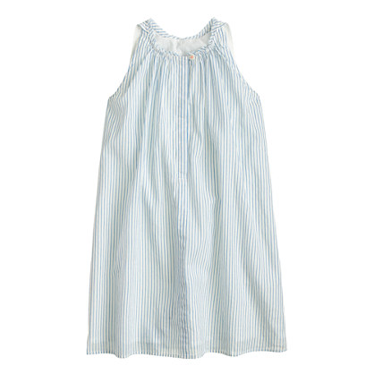 Girls' stripe a-line dress